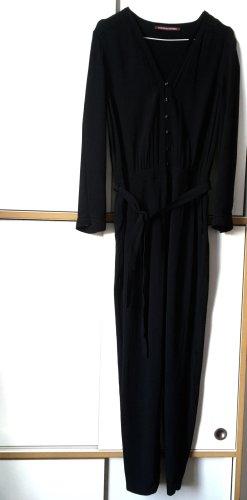 Comptoir des cotonniers schwarzer Jumpsuit aus Viskose