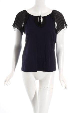 Comptoir des Cotonniers Shirt dunkelblau-schwarz Elegant