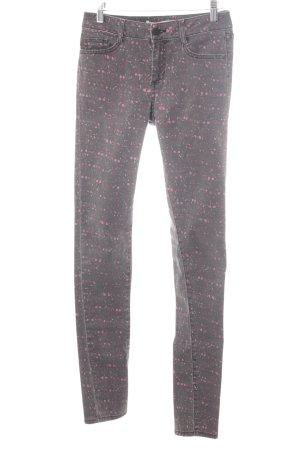 Comptoir des Cotonniers Skinny Jeans mehrfarbig Logo-Applikation aus Leder