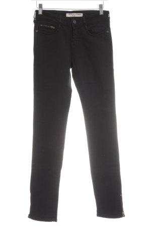 Comptoir des Cotonniers Slim Jeans schwarz Allover-Druck Casual-Look