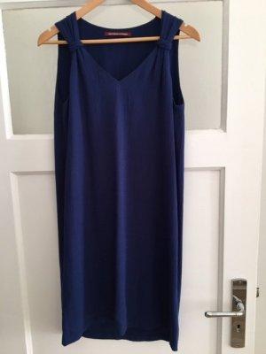Comptoir des Cotonniers A Line Dress blue viscose