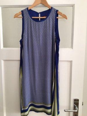 Comptoir des Cotonniers A Line Dress yellow-blue viscose
