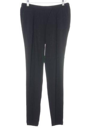 Comptoir des Cotonniers Pantalone jersey nero stile professionale