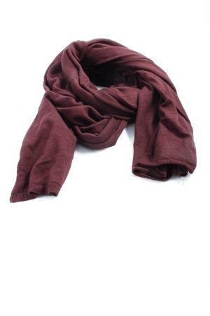 Comptoir des Cotonniers Sciarpa lavorata a maglia marrone stile casual