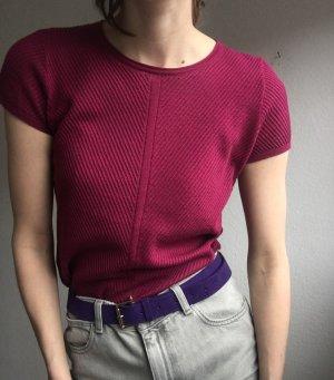 Comptoir des Cotonniers Haut tricotés violet-rose