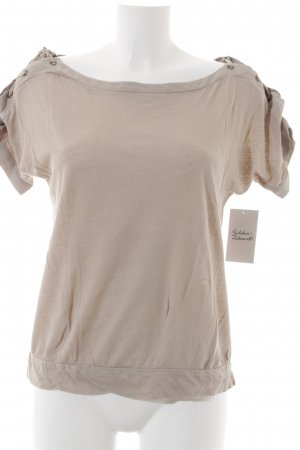 Comptoir des Cotonniers T-shirt beige chiaro Lino