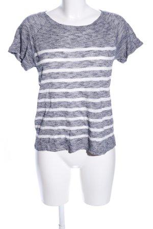 Comptoir des Cotonniers T-Shirt hellgrau-weiß meliert Casual-Look
