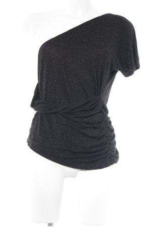 Comptoir des Cotonniers T-Shirt schwarz meliert Casual-Look