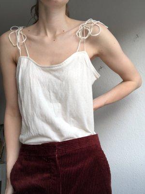 Comptoir des Cotonniers Crochet Top white-natural white