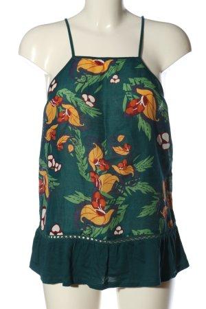 Comptoir des Cotonniers Top met spaghettibandjes bloemenprint casual uitstraling