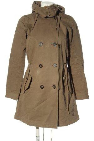 Comptoir des Cotonniers Between-Seasons-Coat brown casual look