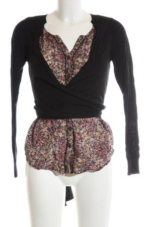 Comptoir des Cotonniers V-Neck Sweater allover print casual look