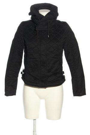 Comptoir des Cotonniers Giacca invernale nero motivo trapuntato stile casual