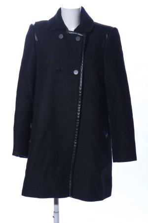 Comptoir des Cotonniers Cappotto invernale nero stile professionale