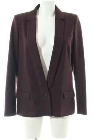 Comptoir des Cotonniers Wool Blazer brown business style