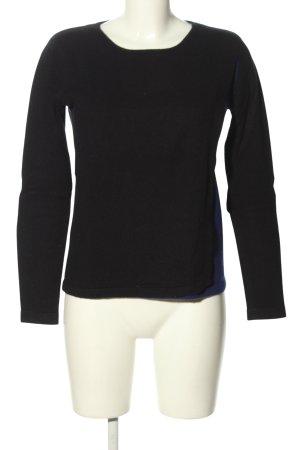 Comptoir des Cotonniers Wełniany sweter czarny-niebieski W stylu casual