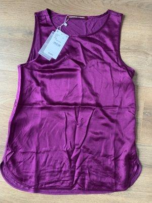 Comptoir des Cottoniers Top Shirt S 36 38 Dark Peony neu Etikett
