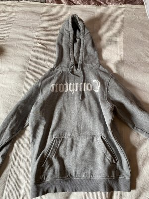 Snipes Hooded Sweater white-light grey