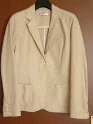 Comptoir des Cotonniers Trouser Suit camel-natural white cotton