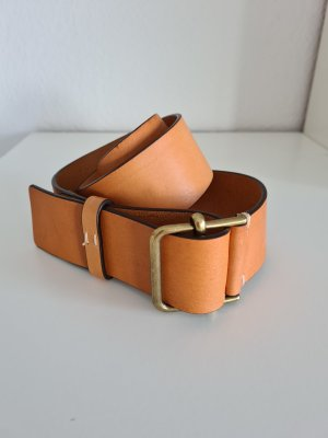 Comptoir des Cotonniers Leather Belt nude-camel