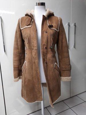 Comptoir des Cotonniers Manteau en cuir multicolore cuir