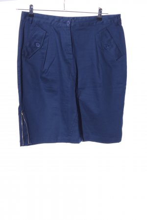 conbipel Gonna cargo blu stile casual