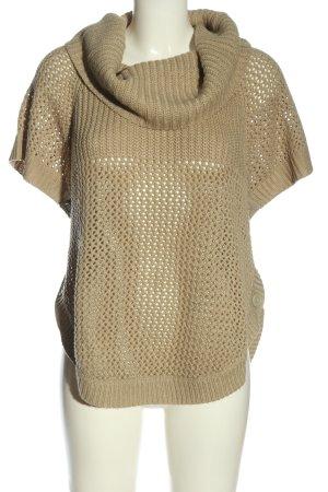 conbipel Short Sleeve Sweater cream casual look