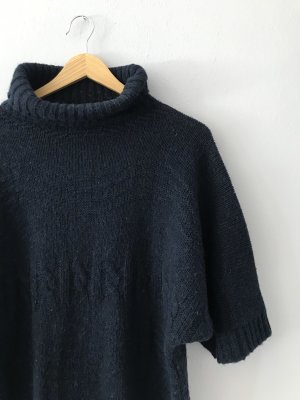 conbipel Short Sleeve Sweater dark blue