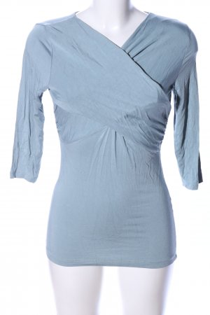 conbipel Koszulka z dekoltem woda niebieski W stylu casual
