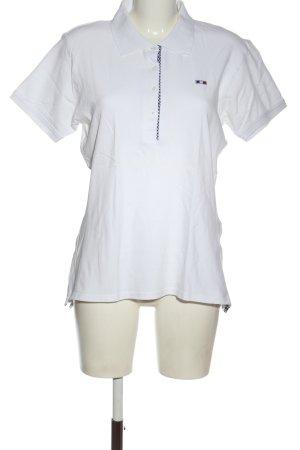 Concept E.B. Polo blanc style décontracté