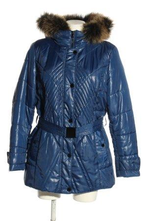 Concept K Steppjacke blau Steppmuster Casual-Look