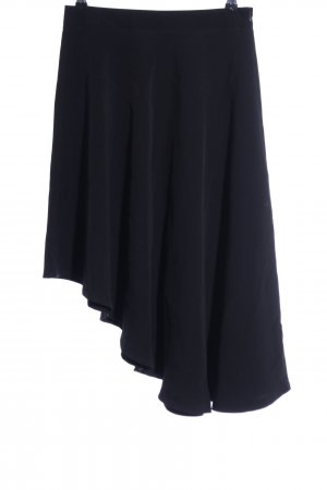 Concept Reserved Asymmetry Skirt black casual look