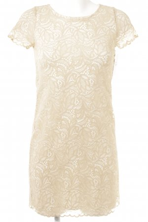 Concept Reserved Lace Dress nude-white elegant