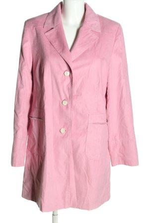 Concept UK Cappotto corto rosa stile casual