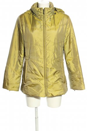 Concept UK Steppjacke goldfarben Steppmuster Casual-Look