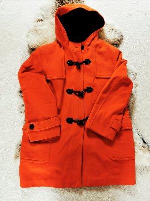 Concept UK Cappotto invernale nero-arancione