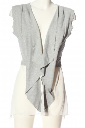 confezionato in italy Cardigan light grey flecked casual look