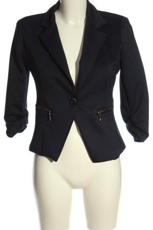 confezionato in italy Short Blazer blue casual look