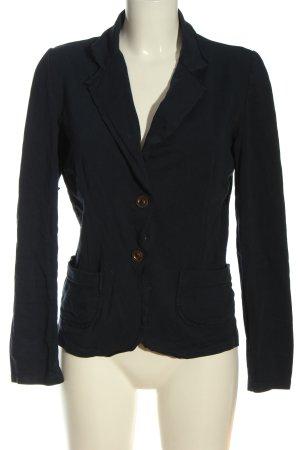 confezionato in italy Knitted Blazer blue casual look