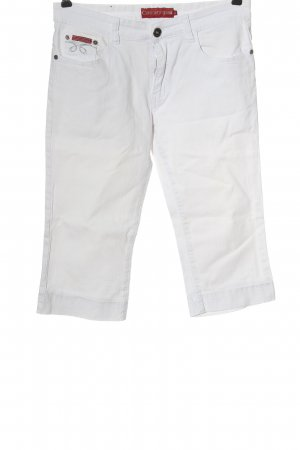 Confortif Denim 3/4 Length Jeans white casual look