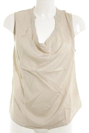 Conleys ärmellose Bluse beige Elegant