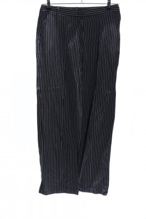 Conleys Suit Trouser black-white striped pattern business style