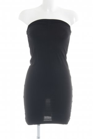 Conleys Bandeau Dress black casual look