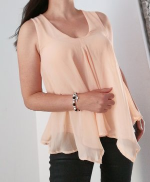 Conleys V-Neck Shirt apricot
