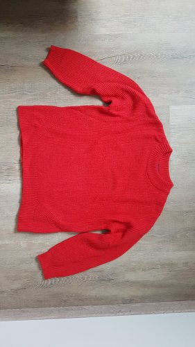 Conleys Oversized Sweater brick red