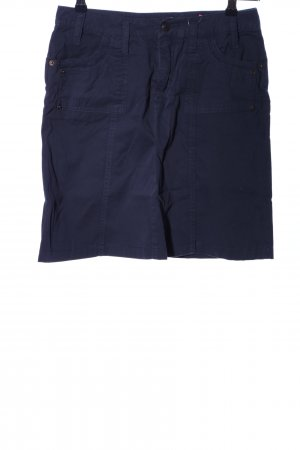 Conleys Cargo Skirt blue casual look