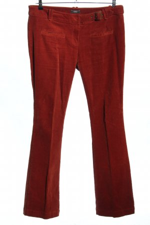 Conleys Corduroy Trousers red casual look
