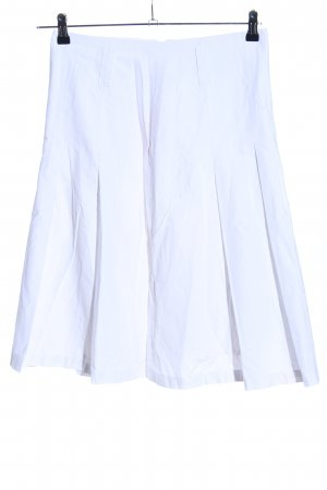 Conleys Flared Skirt white casual look