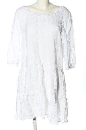 Conleys Hemdblusenkleid weiß Casual-Look
