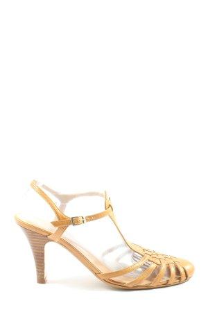 Conleys High Heel Sandaletten hellorange Casual-Look